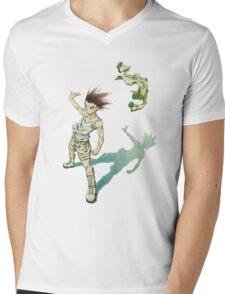 Hunter x Hunter-Gon Freecss Mens V-Neck T-Shirt