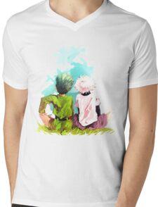 Hunter x Hunter-Gon Freecss & Killua Zoldyck Mens V-Neck T-Shirt