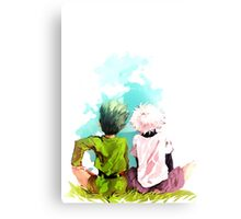 Hunter x Hunter-Gon Freecss & Killua Zoldyck Canvas Print