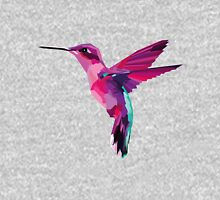 Pink Hummingbird (no background) Unisex T-Shirt