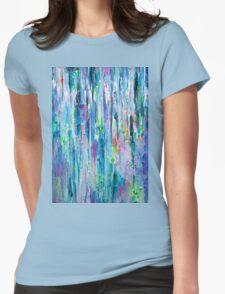 Silver Rain Womens Fitted T-Shirt