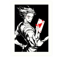Hunter x Hunter- Hisoka Art Print
