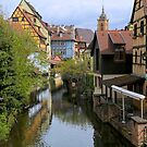The canal in Colmar by annalisa bianchetti