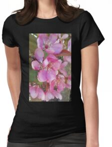 Beauty in Pink Womens Fitted T-Shirt