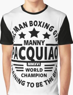Manny Pacquiao Boxing Gym Graphic T-Shirt