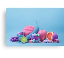 Still Life with Fruit and Candy III Canvas Print