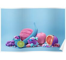 Still Life with Fruit and Candy III Poster