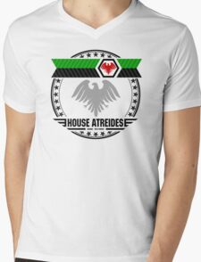 House Atreides Crest Mens V-Neck T-Shirt