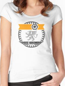 House Harkonnen Crest Women's Fitted Scoop T-Shirt
