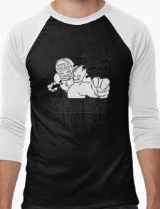 Darkk Mane / Anime Strength Men's Baseball ¾ T-Shirt