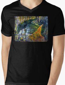 Dragon Fury Mens V-Neck T-Shirt