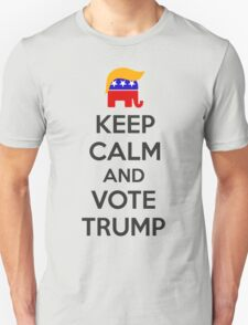 Keep Calm and Vote Trump T-Shirt