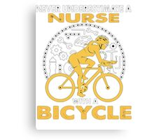 BICYCLE Nurse Canvas Print