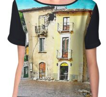 L'Aquila: collapsed building Chiffon Top
