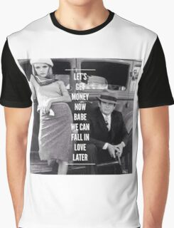 Bonnie and Clyde Graphic T-Shirt