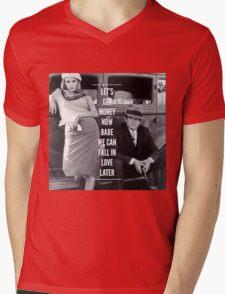 Bonnie and Clyde Mens V-Neck T-Shirt