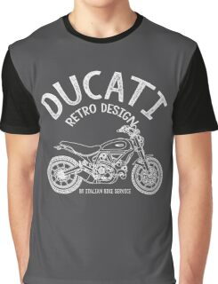 Ducati Retro Design Graphic T-Shirt