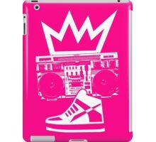 Boombox Kicks King iPad Case/Skin