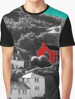 Port Isaac/Port Wenn - Doc Martin's House Graphic T-Shirt