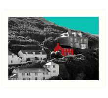 Port Isaac/Port Wenn - Doc Martin's House Art Print