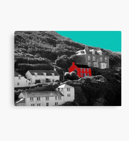 Port Isaac/Port Wenn - Doc Martin's House Canvas Print