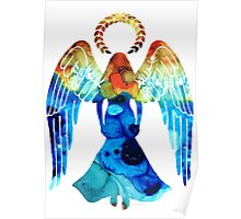 Guardian Angel - Spiritual Art Paitning Poster