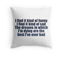 #MadWorld Throw Pillow
