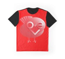 love bird in red Graphic T-Shirt