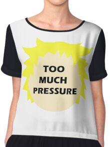 Tweek pressure (South Park) 2.0 Chiffon Top