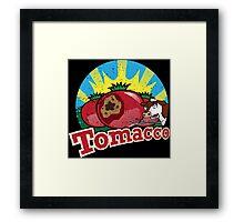 TOMACCO SIMPSONS Framed Print