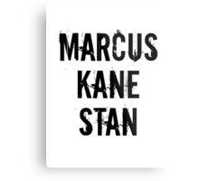 Marcus Kane Stan Metal Print