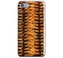 Stacked Pile of Lumber iPhone Case/Skin