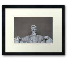 Lincoln - front on Framed Print