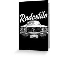 Mazda RX3 Greeting Card