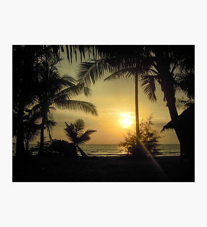 Idyllic sunset Photographic Print