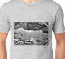 Looking Up In Fisheye (B&W) T-Shirt