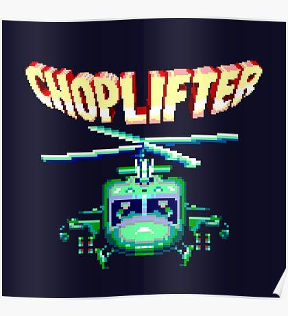 CHOPLIFTER SEGA ARCADE Poster