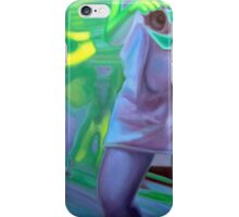 The photographer, 2011, 53-80cm, oil on canvas iPhone Case/Skin