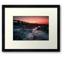 Landscape, Malta Framed Print