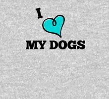I Love My Dogs Unisex T-Shirt