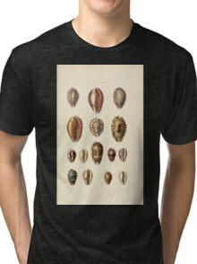Thesaurus conchyliorum Monographs of genera of shells George Brettingham Sowerby 1887 V1-V5 416 Tri-blend T-Shirt
