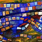 Paper Mosaic 202 by Dana Roper