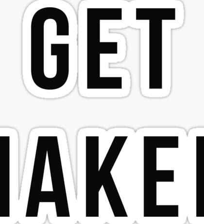Get Naked Sticker