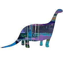 Galaxy Dinosaur Photographic Print