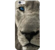 The Blue Eye Of the Lion iPhone Case/Skin