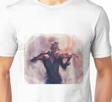 Violin and James Carstairs Unisex T-Shirt