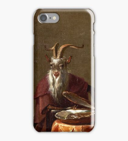 Cornelis Saftleven - College of Animals 1655 Fashion  College Smart  Smile  Dutch  Netherlands  Colorful iPhone Case/Skin