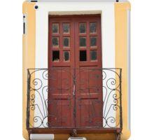 Brown Door and Balcony iPad Case/Skin
