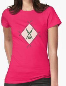 Ranger badge Womens Fitted T-Shirt