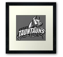 HOTH TAUNTAUNS FOOTBALL TEAM Framed Print